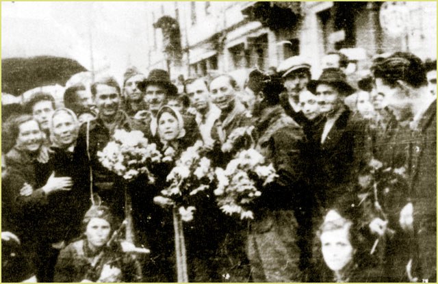 The liberation of Bitola